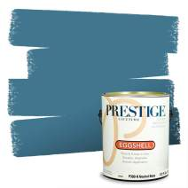 Prestige, Blues and Purples 7 of 8, Interior Paint and Primer In One, 1-Gallon, Eggshell, Riding Waves