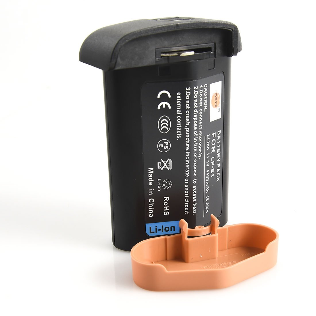 DSTE Replacement for LP-E4 Li-ion Battery Compatible Canon EOS-1D C EOS-1D Mark III IV EOS-1Ds Mark III IV Digital Camera