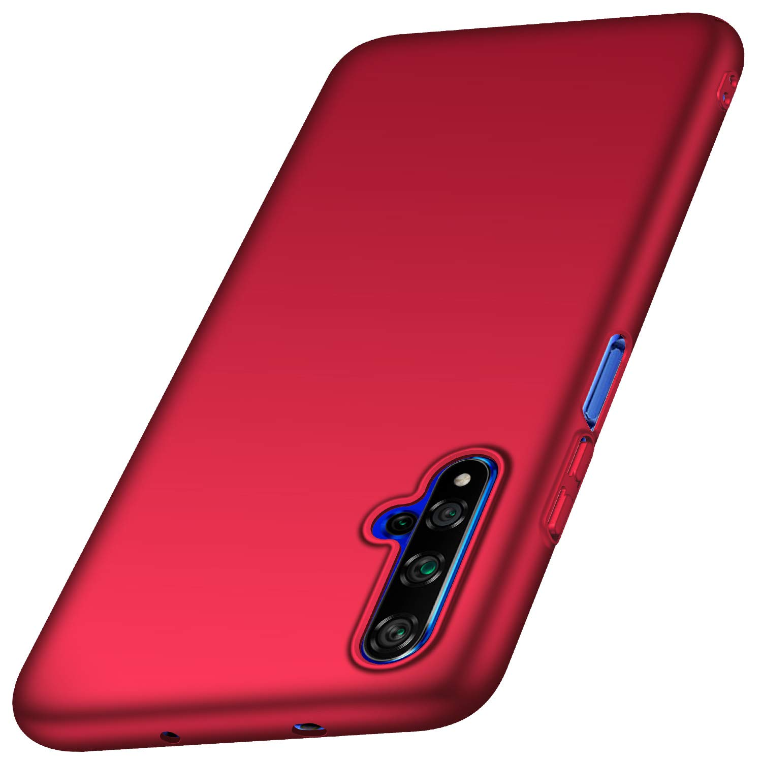 Anccer Compatible for Huawei Honor 20 Case [Colorful Series] [Ultra Thin Fit] Hard Slim Cover for Honor 20 (Red)