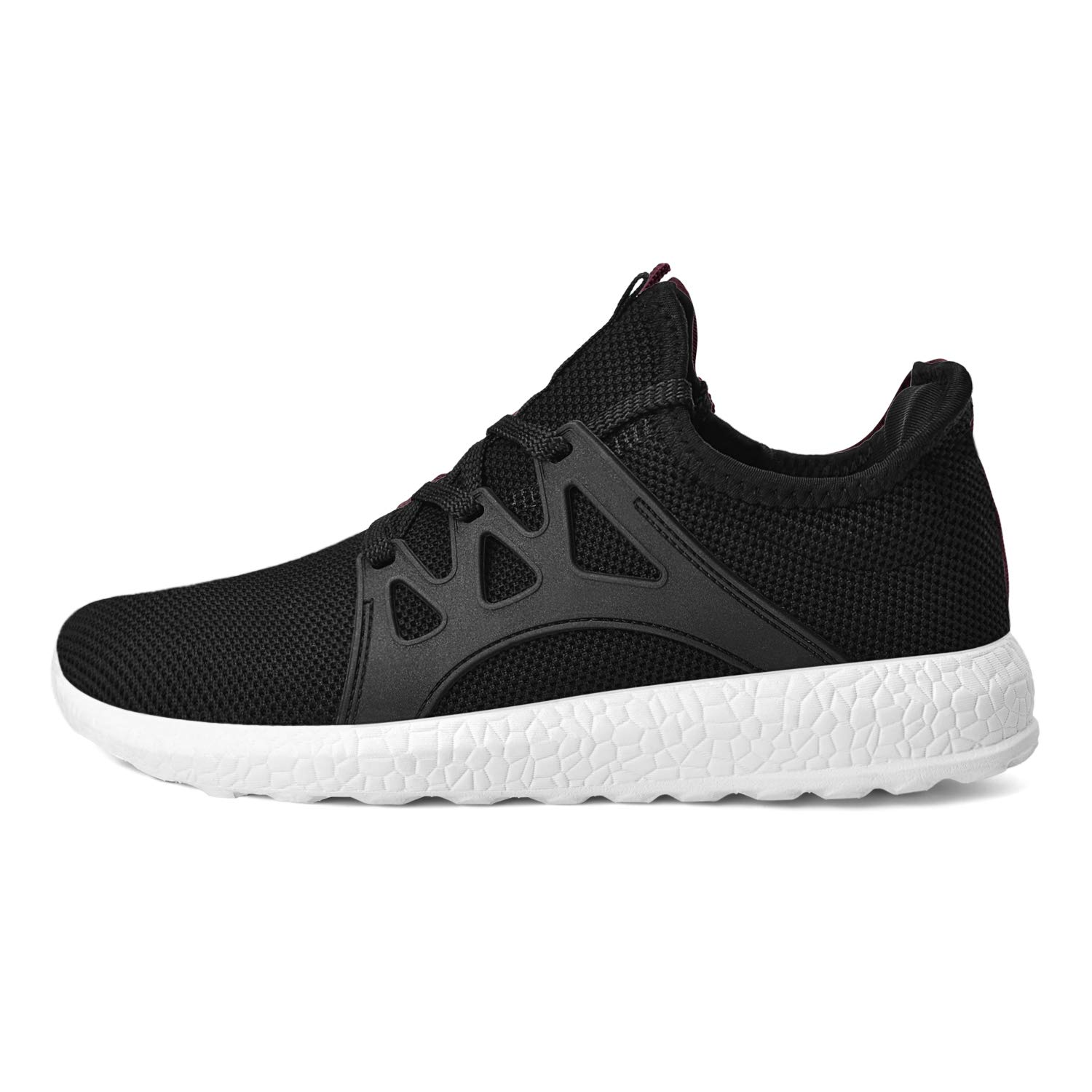 MARSVOVO Womens Non Slip Sneakers Lightweight Air Knitted Walking Running Shoes