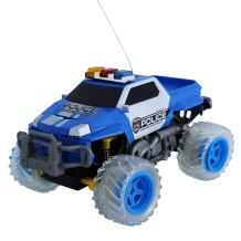 Lutema Police Pickup 4CH Remote Control Truck, Blue & White, One Size