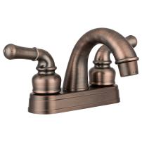 Dura Faucet DF-PL620C-ORB RV Classical Two Handle Arc Spout Bathroom Faucet (Oil-Rubbed Bronze)
