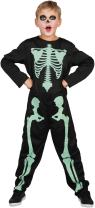 U LOOK UGLY TODAY Boys Halloween Costume Kids Jumpsuit Skeleton X-Ray Cosplay Child's Dress Up Costumes Party