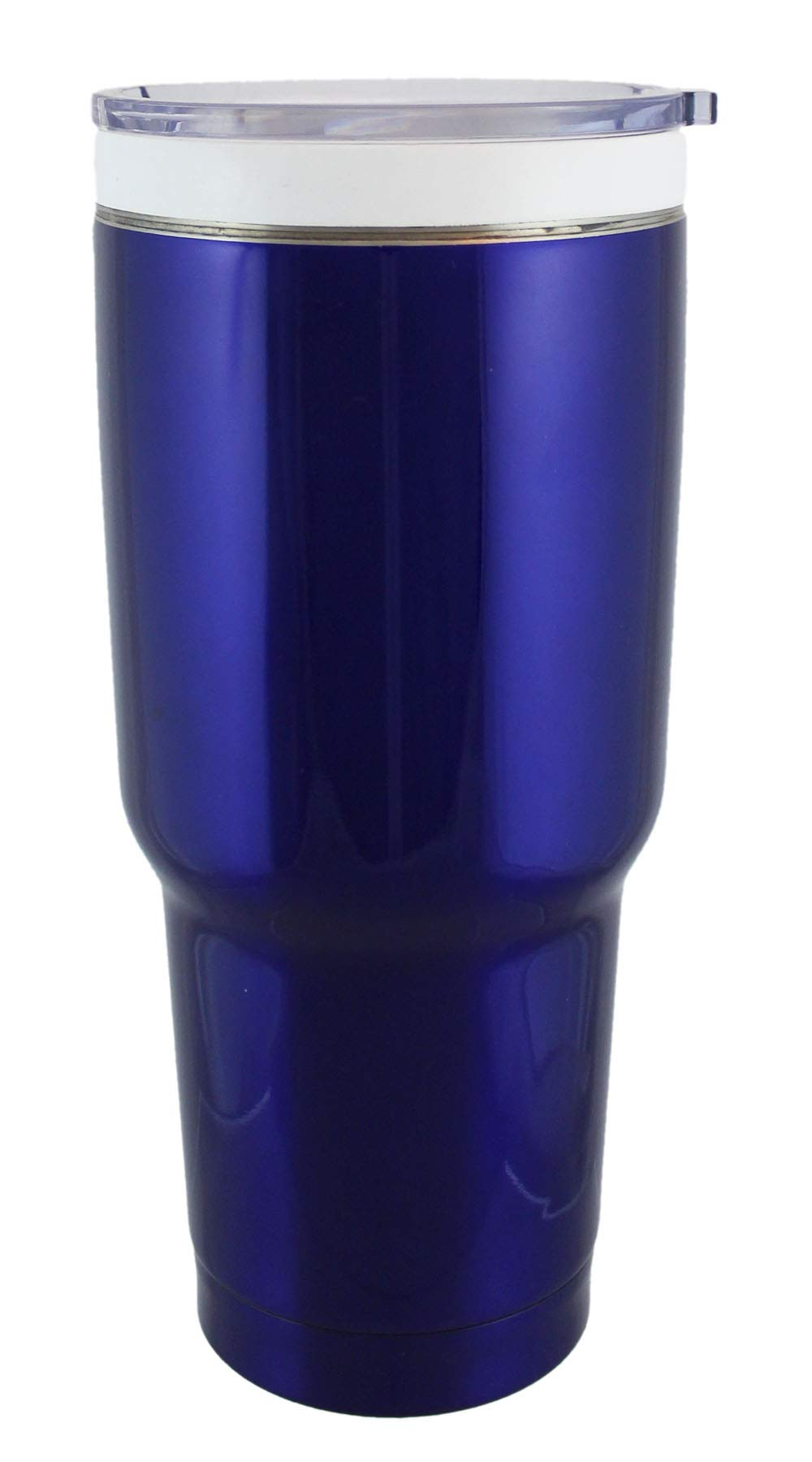 CeramiSteel 32 ounce Travel Mug with Lid, Ceramic Coated Stainless Steel Tumbler, Double Walled Vacuum Insulated, BPA Free, Blue Paint Finish