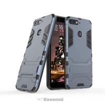 Cocomii Iron Man Armor Huawei Y6 2018/Y6 Prime/Honor 7A/Enjoy 7A/Enjoy 8E Case, Slim Thin Matte Vertical & Horizontal Kickstand Drop Protection Bumper Cover for Huawei Y6 2018/Y6 Prime (Black)