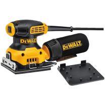 DEWALT Electric Sander, 1/4-Inch Sheet, Orbital (DWE6411)