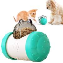 Interactive Feed Toy for Cat and Dog Pet Tumbler Puzzle Slow Food Leakage Ball Without Electric Pet Food Leakage Rocking Ball Toy by Patgoal
