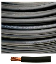 6 Gauge 6 AWG 30 Feet Black Welding Battery Pure Copper Flexible Cable Wire - Car, Inverter, RV, Solar