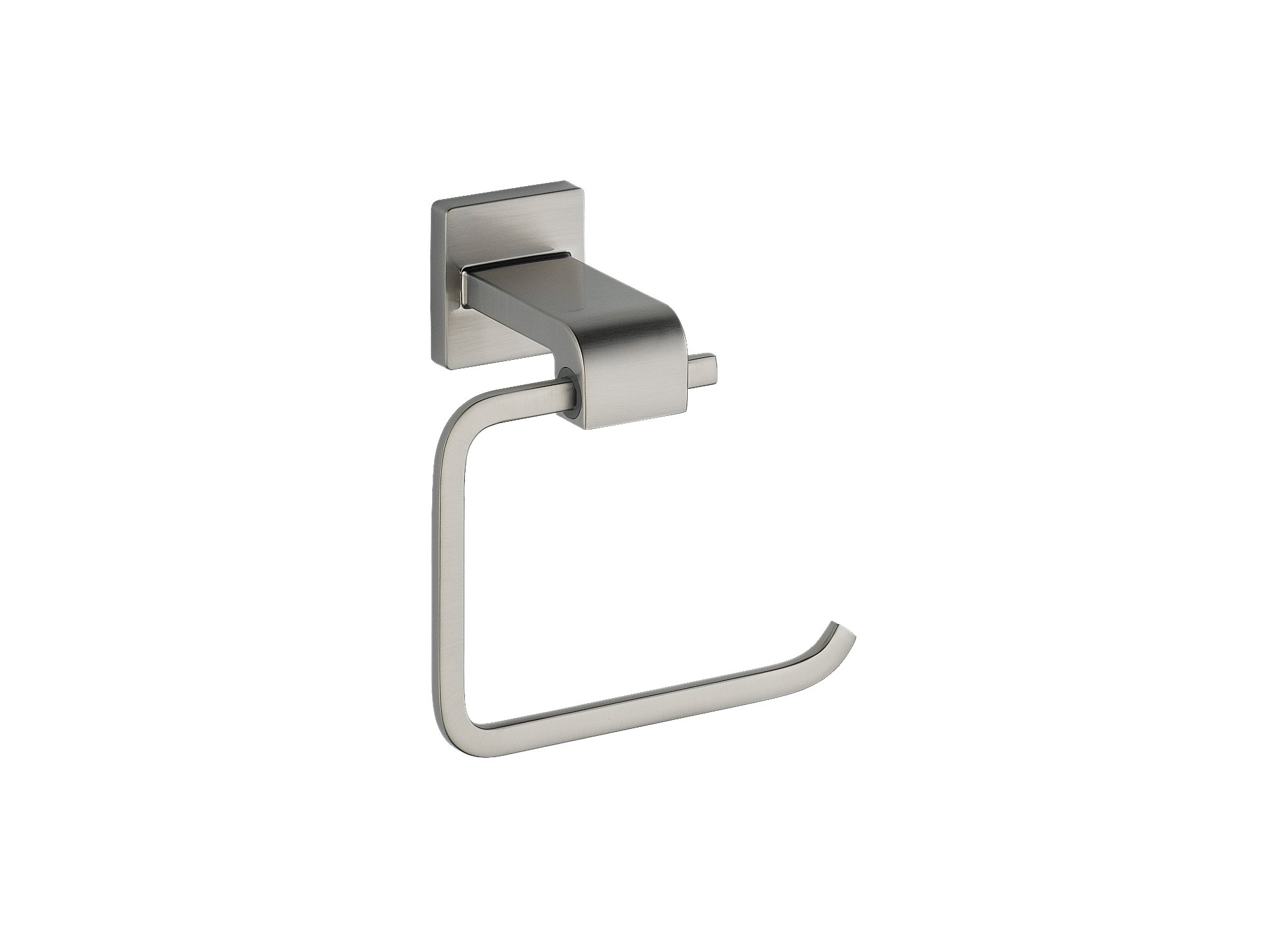 Delta Faucet 77550-SS Ara Toilet Paper Holder, Single Post, Brilliance Stainless
