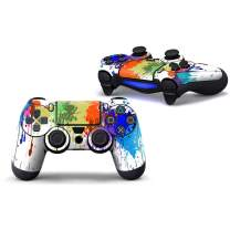 Sololife PS4 Controller Skin Stickers for Sony PlayStation 4 DualShock Wireless Controller - Paint