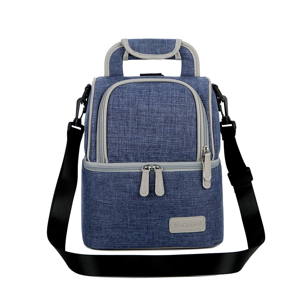 V-COOOL Lunch Backpack Back Fresh Package Insulated Bag Office Lunch Bag