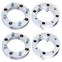 """ECCPP 4X 1.5 4x156mm Wheel Spacer Adapter 4 Lug Wheel Spacers 131mm fits for 2001-2004 for Polaris Ranger 425 1996-2012 for Polaris Sportsman 500 with 3/8"""" x24 Studs"""
