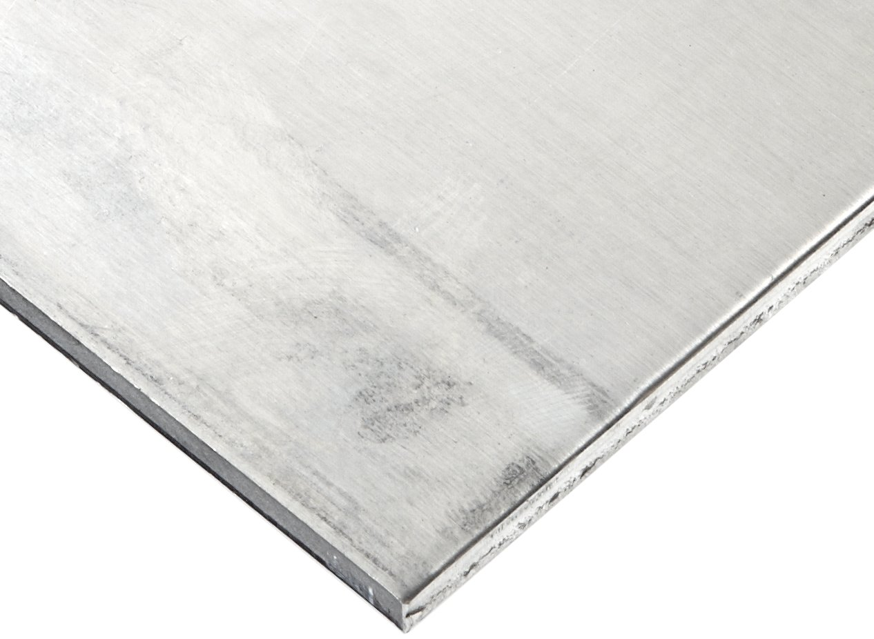 Finish 12 Length 7075 Aluminum Sheet Unpolished Mill 12 Width ASTM B209//AMS QQ-A 250-12//AMS 4045 T6 Temper 0.032 Thickness