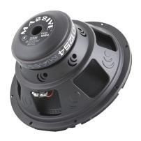 Massive Audio TKO12S4 TKO Series. 12 Inch, 600 Watt, 8mm Top Plate, Single 4 Ohm Car Subwoofer. Sold Individually.