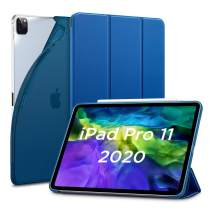 ESR for iPad Pro 11 Case 2020 & 2018, Rebound Slim Smart Case with Auto Sleep/Wake [Viewing/Typing Stand Mode] [Flexible TPU Back with Rubberized Cover] - Navy Blue