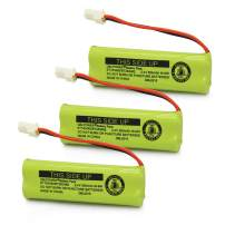 QBLPOWER BT183482 BT283482 Battery Compatible with Vtech DS6401 DS6421 DS6422 DS6472 LS6405 LS6425 LS6426 LS6475 LS6476 89-1348-01-00 Cordless Phone Handset(3 Pack)