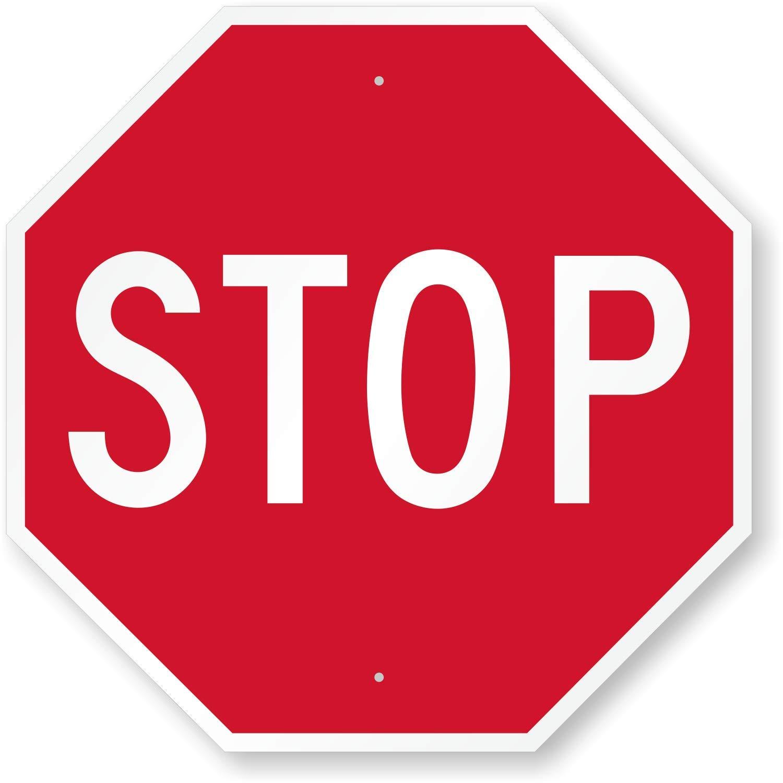 "SmartSign ""STOP"" MUTCD Sign | 30"" x 30"" 3M Diamond Grade Reflective Aluminum"