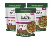 Canterbury Naturals Whole Grain Freekeh and Kale Artisan Salad Mix, 7 Ounce Bag, Pack of 3
