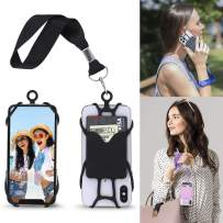 Gear Beast Cell Phone Wrist Strap Mobile Phone Holder Wristlet with Card Pocket Compatible with iPhone, Galaxy & Most Smartphones