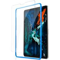UGREEN Screen Protector Compatible for iPad Pro 2018 Protective Tempered HD Clear Glass for 12.9 Inch Screen with Installation Tool Anti-Scratch 9H Hardness, Well Support Pencil, 3D Touch and Face ID