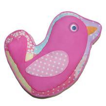 Cozy Line Pink Owl 2 Pcs Quilt Set for Kids/Girls Bedding (Owl, Twin - 2 Piece) (Pink Bird, Decor Pillow - 1 pc)