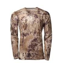 Kryptek Valhalla LS Crew - Long Sleeve Camo Hunting Shirt (Valhalla Collection)