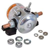 Stens 435-368 Starter Solenoid, Replaces E-Z-Go: 27855G01, Fits E-Z-Go: Electric, 1986 and Newer, Hardware Included, 36V, 124 Series
