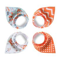 Baby Bandana Drool Bibs,4-Pack Gift Set for Drooling and Teething,Unisex Design for Boys and Girls