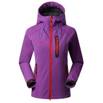 SAENSHING Women's Waterproof Softshell Jacket Outdoor Raincoat Camping Hiking Mountaineering Jackets