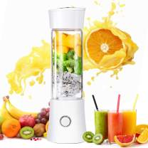 Taillansin【2019 Newest】Portable Blender, Multi-functional Travel Electric Juice Cup with USB Rechargeable Small Blender for Shakes and Smoothies, Stronger and Faster with Stainless Steel 6-Blades(FDA BPA free)