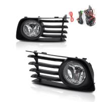 Fog Lights Fit for Toyota Prius 2004 2005 2006 2007 2008 2009 (OE Style Real Glass Clear Lens w/ 9006 12V 51W Bulbs)