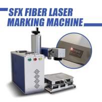 Fiber Laser Marking Machine 20W Engraver Machine,Engraving Maker Machine Marking Area: 110110mm or 150150mm or 175175mm