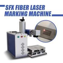 20W Fiber Laser Marking Machine,Engraver Machine, Engraving Machine Maker (110110mm(4.34.3in))