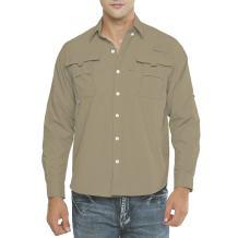 Men's Long Sleeve Fishing Shirts,UPF 50+ Uv Sun Protection Quick-Dry Lightweight Cooling Hiking Shirt