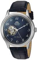 Orient Men's Envoy Version 2 Japanese Automatic/Hand Winding Movement Stainless Steel Leather Dress Watch