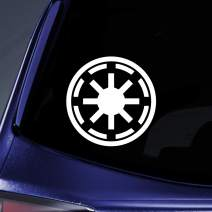 "World Design Galactic Republic Symbol Notebook Car Laptop 5.5"" (White)"