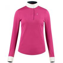 HORZE Crescendo Blaire Womens Long Sleeve Functional Show Shirt