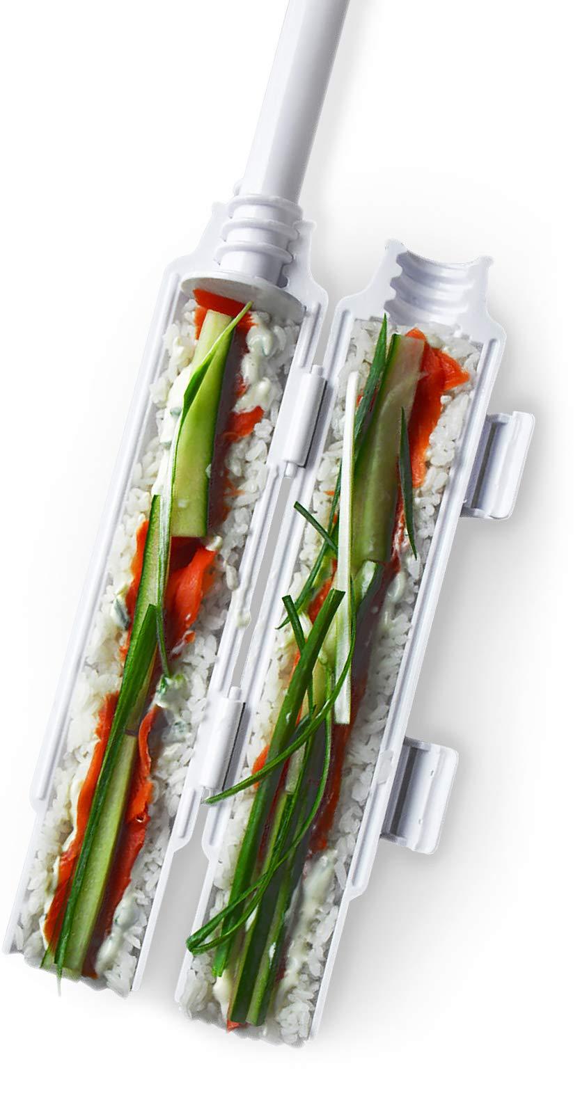 Sushedo Sushi Bazooka, Sushi Making Kit, Sushi Roller Maker, Sushi Tube Machine