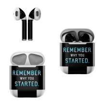 Skin Decals for Apple AirPods - Remember Why - Sticker Wrap Fits 1st and 2nd Generation