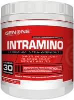 Gen One Nutrition- Intramino BCAA Amino Acids Powder, Energy Booster, Endurance Increase, Amazing Taste (Razz Mojito)