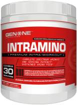 Gen One Nutrition- Intramino BCAA Amino Acids Powder, Energy Booster, Endurance Increase, Amazing Taste (Watermelon)