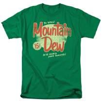 Mountain Dew Retro Logo T Shirt & Stickers