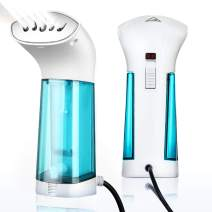 Mini Steam Iron for Clothes Handheld Fabric Steamer Travel Garment Wrinkles Remover Hanging Ironing Steamer Home Use Soften Sanitize Portable Garment Steamer Machine, No Spilling, No Smelling