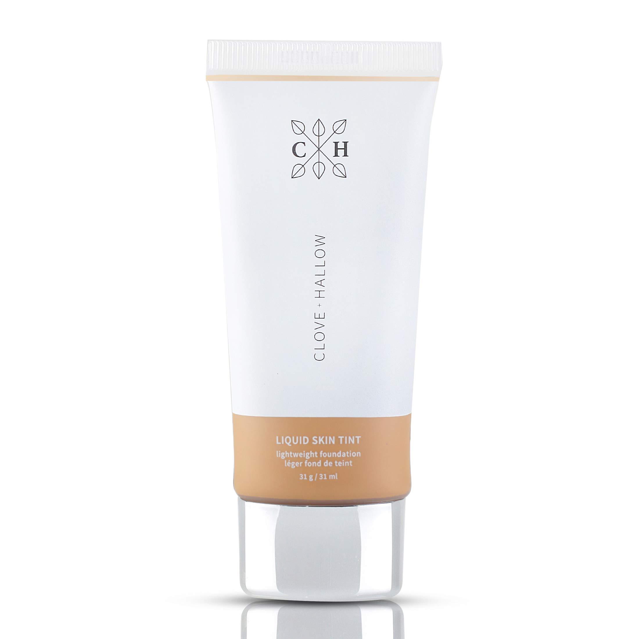 CLOVE + HALLOW Liquid Skin Tint Liquid Foundation Organic Makeup-08