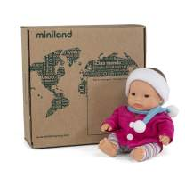"Miniland Educational - 8.25"" Anatomically Correct Baby Doll, Asian Girl"
