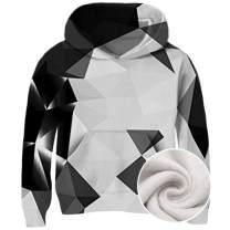 Goodstoworld Boys Girls 3D Pullover Fleece Hoodies School Casual Hooded Sweatshirts with Pockets 3-14 Years