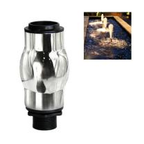 """NAVADEAL Display Frothy Foam Jet Fountain Nozzle - 1"""" DN25 Stainless Steel Water Spray Sprinkler - for Garden Pond, Amusement Park, Museum, Library"""