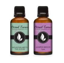 30ML - Pair (2) - Mountain Meets The Ocean & Juniper Breeze - Premium Fragrance Oil Pair - 30ML