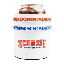 Scorzie Score Keeper, Can Cooler The Only Cola/Beer Sleeve That Keeps Score - Perfect for Lawn Games Including Kan Jam Corn Hole Poleish Horseshoes and Your Child's Soccer or Baseball Games