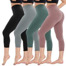 CAMPSNAIL High Waisted Leggings for Women - Soft High Rise Tummy Control Athletic Workout Legging Fabletics Plus Size Pants